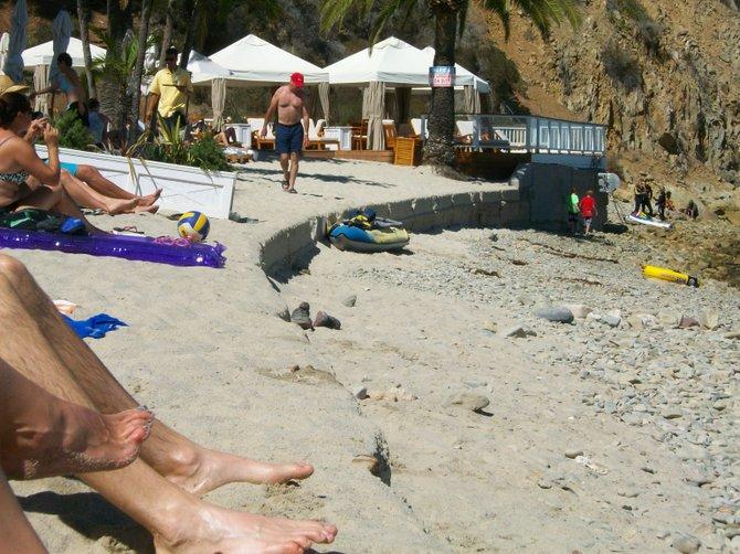 Descanso Beach Club on Catalina Island.