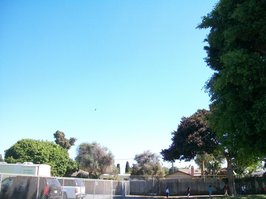 What is the mystery object in the sky over Imperial Beach?