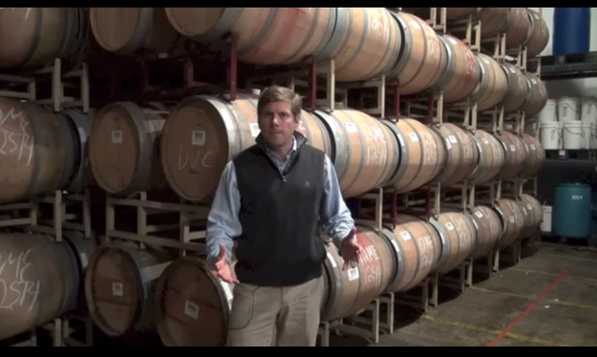 """Coal lobbyist James T. Dyke is also Jim """"Bear"""" Dyke, Jr., the amiable proprietor of Mira Winery in South Carolina's Charleston Harbor."""