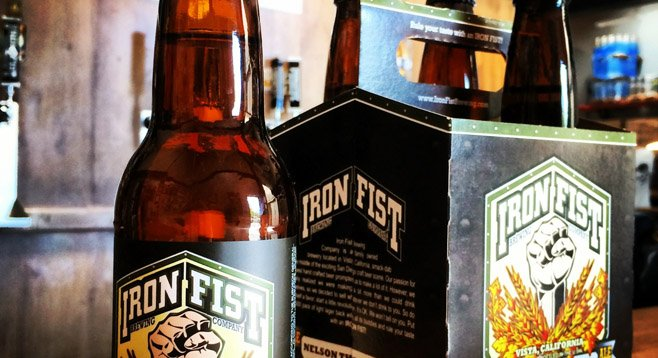 Image by Iron Fist Brewing Company