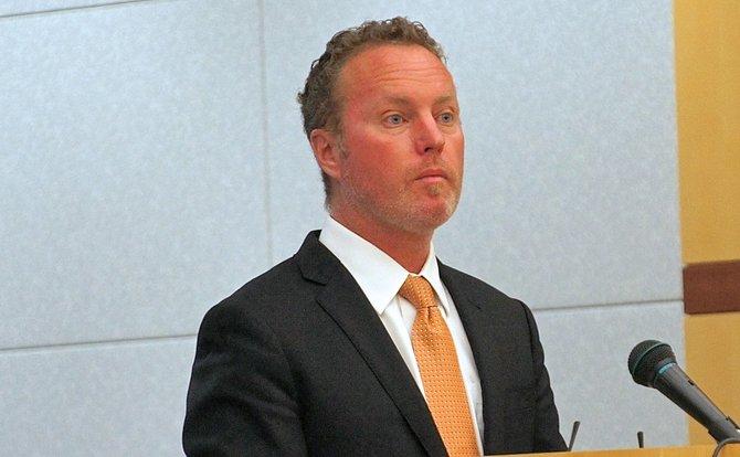 Defense attorney Brian Dooley. Photo by Eva.