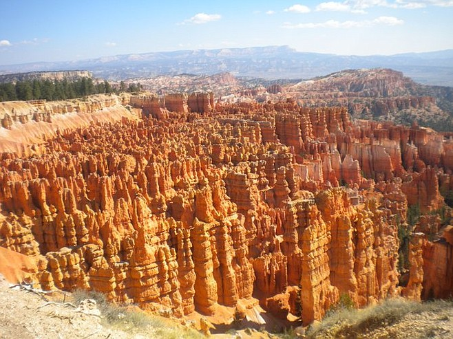 Bryce Amphitheater by day.