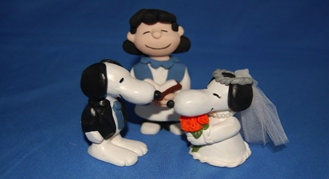 A scene from the upcoming Bridesmaids 2: I Married an Anthropomorphic Beagle!