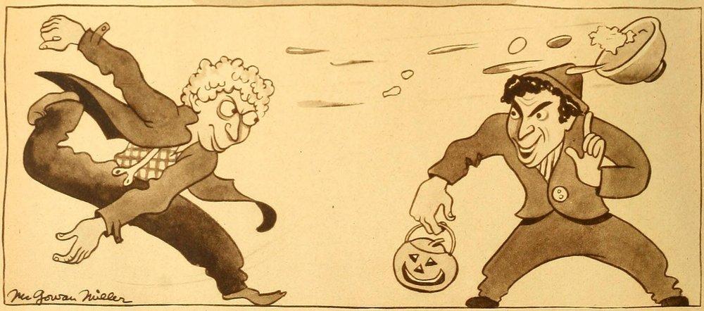 Why a Jack-O-Lantern? Halloween, Marx Bros. style, 1937.