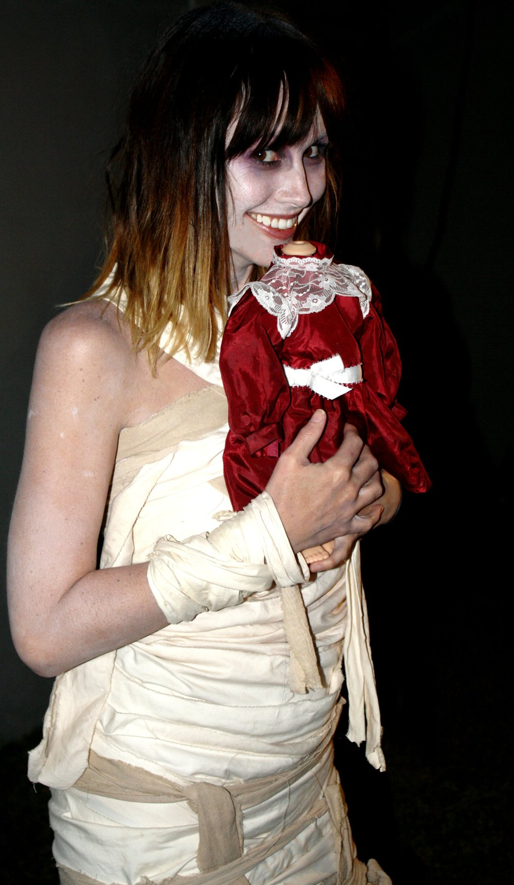 Casondra Vachon's mummy costume