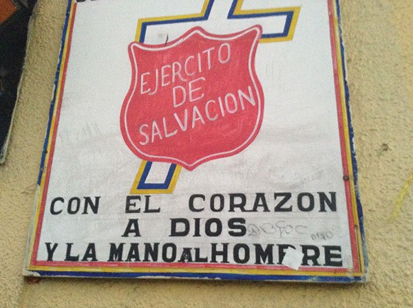 The Salvation Army in Tijuana's Colonia Libertad feeds and houses deported people.