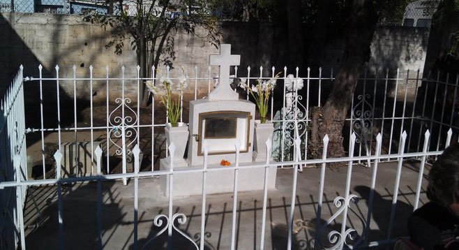 Saturday, October 2: A visit to Tijuana's oldest graveyard