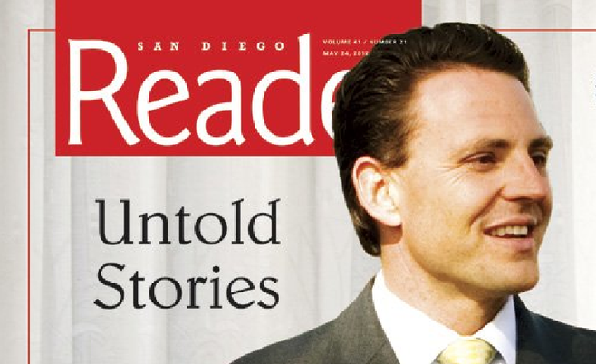 Reader cover story, May 23, 2012