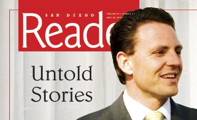 Reader cover story, May 23, 2012