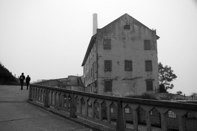 The power house at Alcatraz in San Francisco