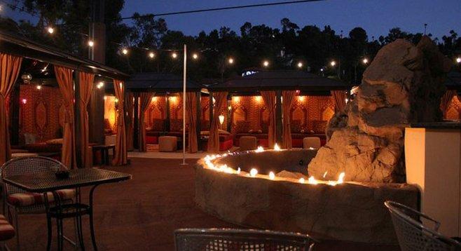 La Mesa Steakhouse Moves Charcoal To Outdoor Hookah Lounge