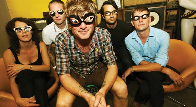 SanFran psych-rock band Thee Oh Sees take the stage at Bar Pink Tuesday night.