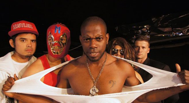 The Elaborate Entrance of Chad Deity, now at Ion Theatre, wrestles with the American Dream.