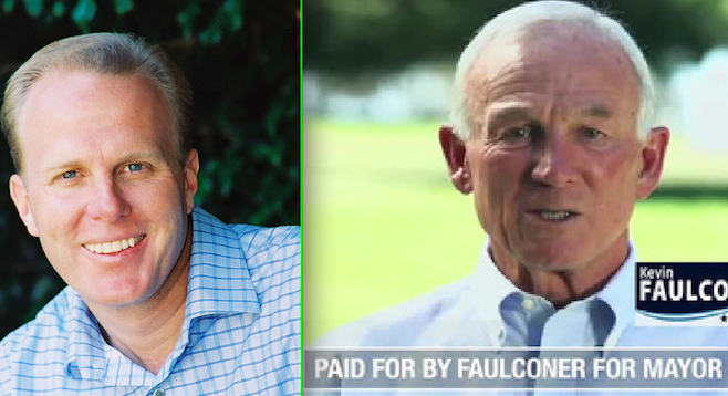 Kevin Faulconer, Jerry Sanders