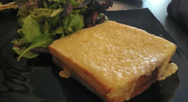 Croque-monsieur from Cafe Masillia