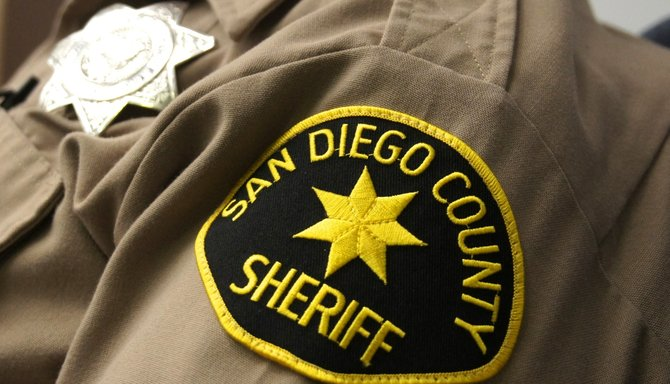 San Diego County Sheriff patch.