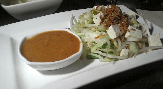 Gado-gado salad at Snooty Asian