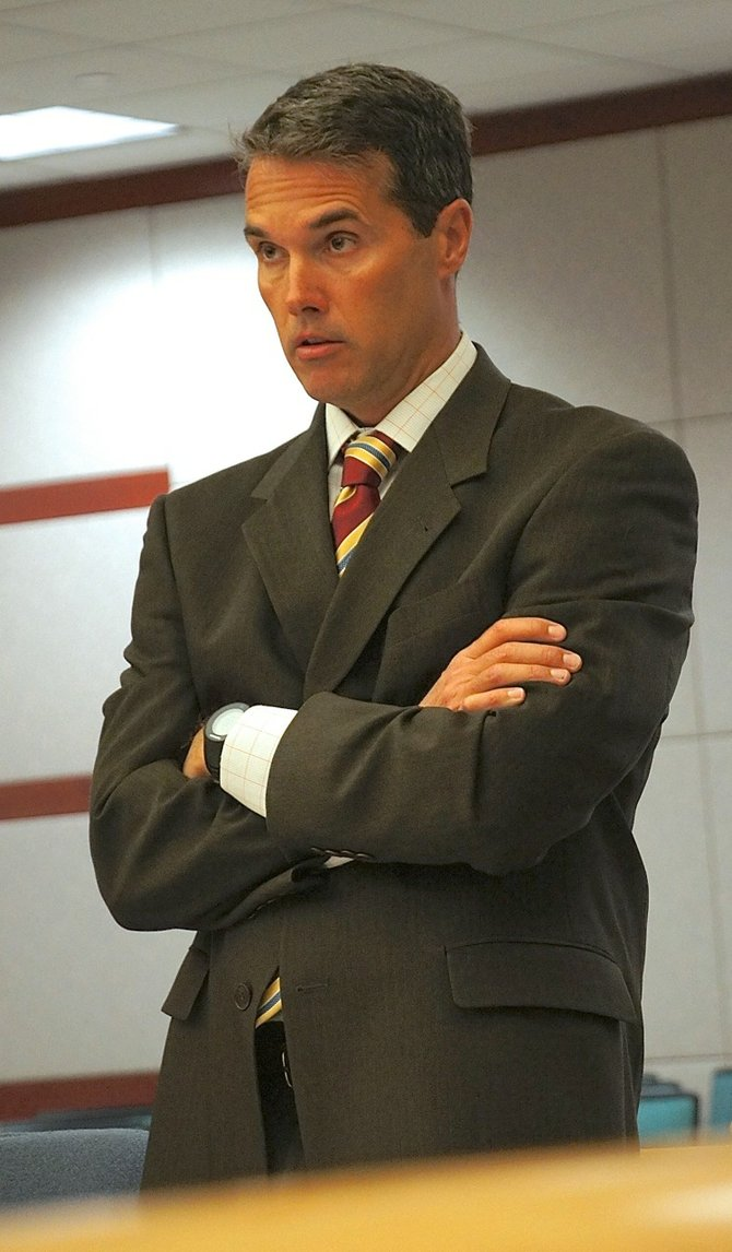 Cal Logan, gang specialist.