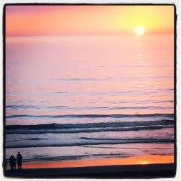 Cardiff:  November Sunset