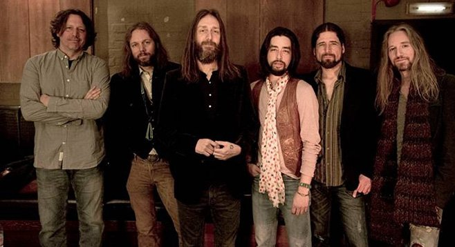 Inner tensions fuel the Black Crowes' bombast. They'll be at the Balboa Theatre downtown on December 11. - Image by Ross Halfin