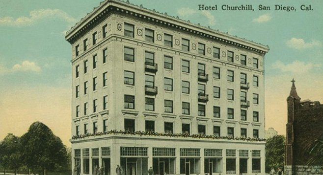 Hotel Churchill, circa 1930