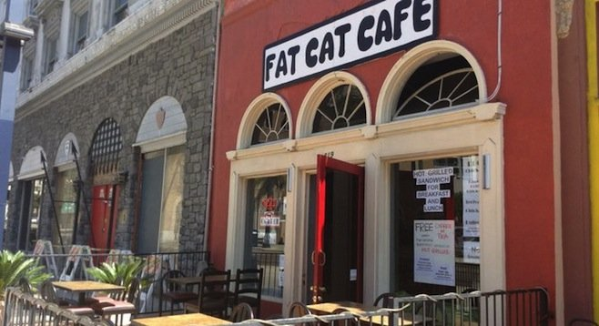 Cat Cafe In Downtown San Diego