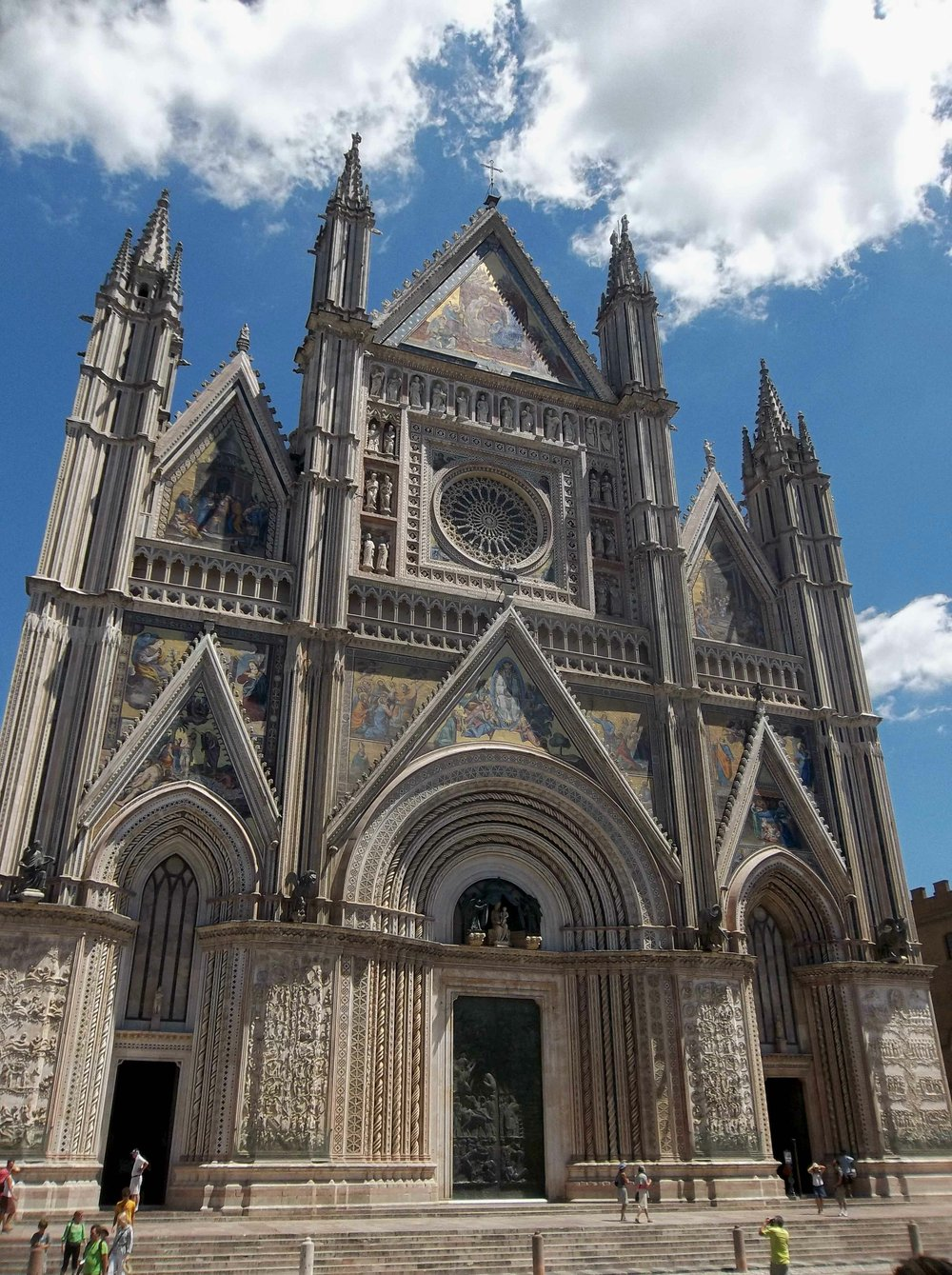 Il Duomo di Orvieto.