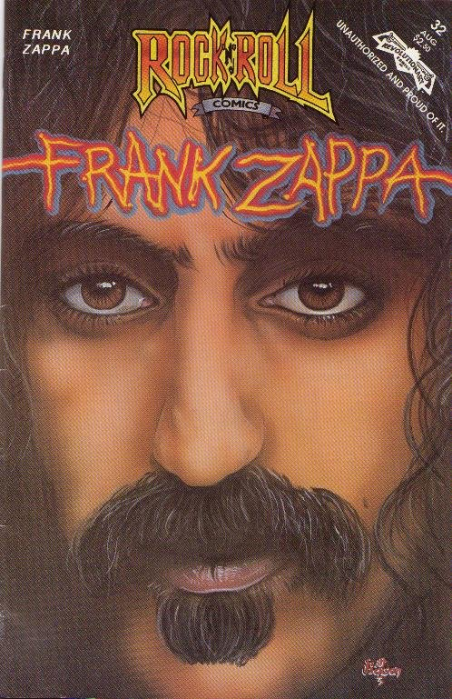 Locally published Zappa comic book from Hillcrest's Revolutionary Comics