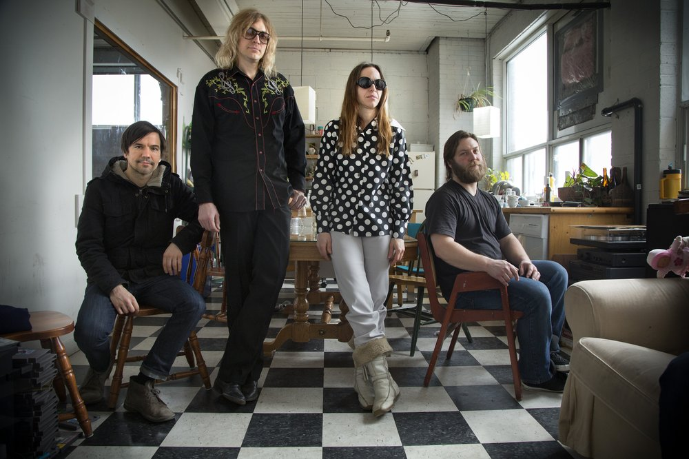 Art-rock Canada band Besnard Lakes bring Imperceptible UFO to Casbah on Sunday.