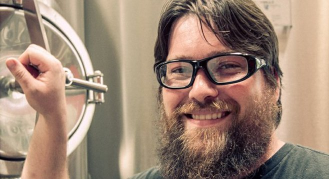 URBN St. Brewing Co. brewmaster Callaway Ryan