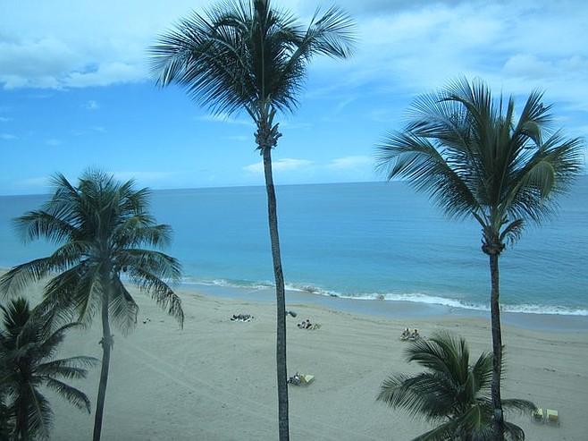 A San Juan beach.