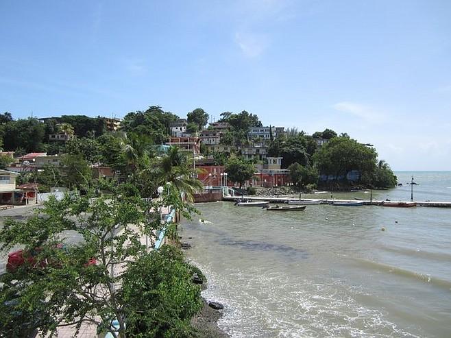Naguabo harbor.