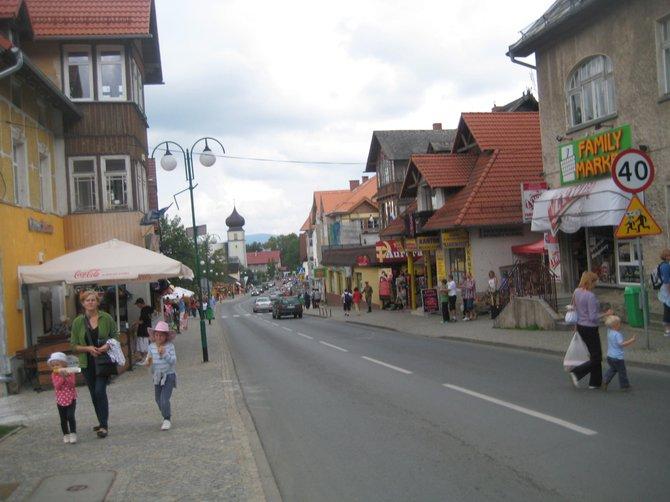 Karpacz main street