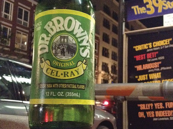Celery soda. New Yorkers have been drinking it for 144 years.
