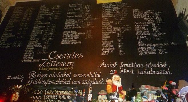 Slumming In Budapest S Ruin Pubs San Diego Reader