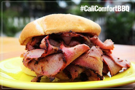 Low-N-Slow Cali Tri-Tip Sandwich