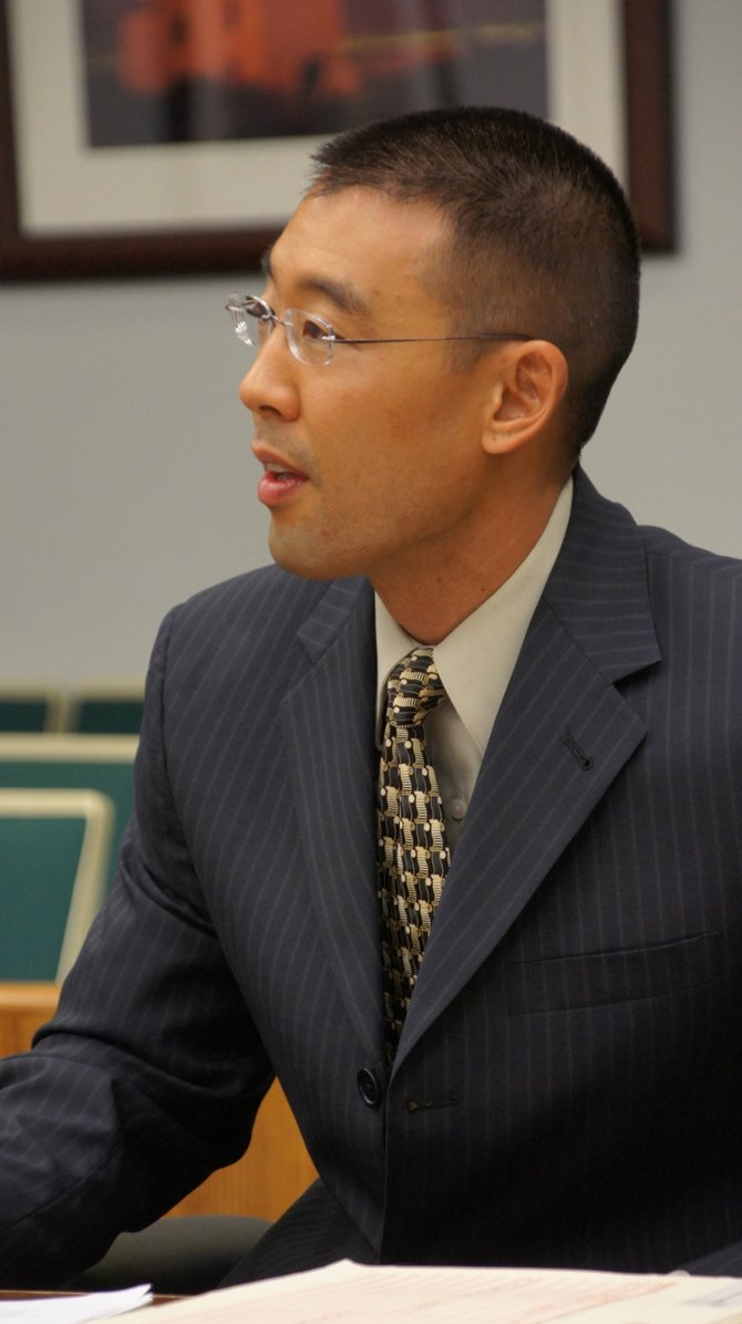 Keith Watanabe said he will call Pfingst as a witness in the murder trial. Photo by Eva