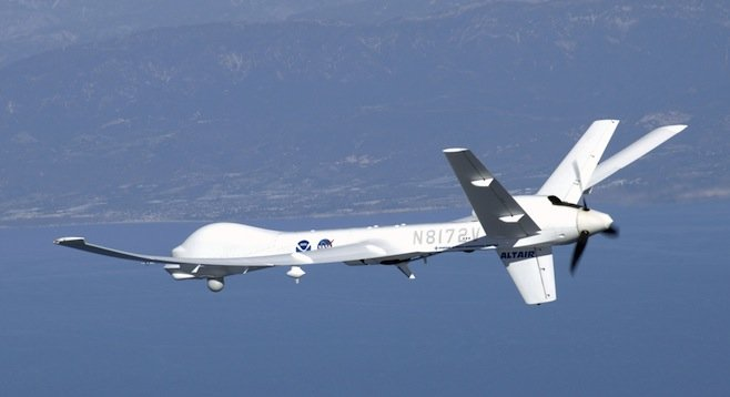General Atomics' MQ-9 Reaper (formerly the Predator B)