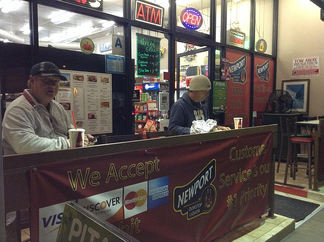 Anthony and Dan at The Counter