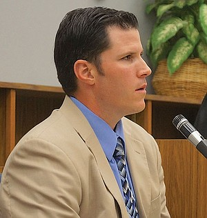 Officer James Bellamy gave testimony.