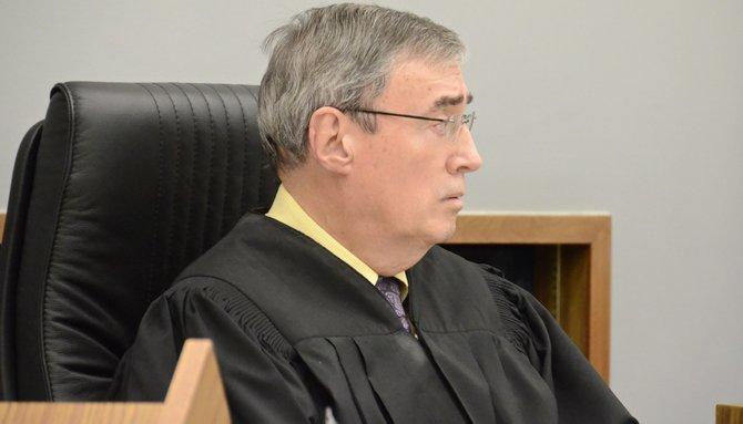 Judge Marshall Hockett set bail at $1 million. Photo Weatherston