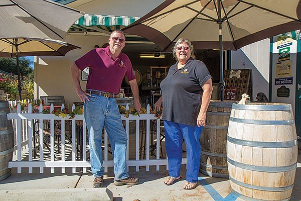 Steve and Marilyn Kahle revel in experimentation, such as a one-off take on a somewhat obscure old-world dessert wine, Pineau des Charentes.