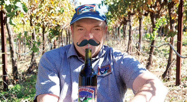 Joe Cullen of Cactus Star Vineyard.