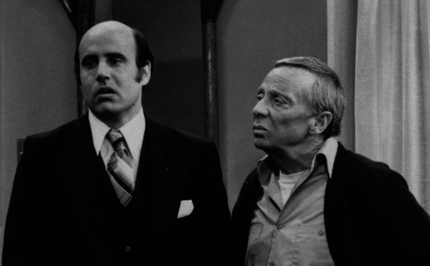 With Norman Fell in The Ropers.