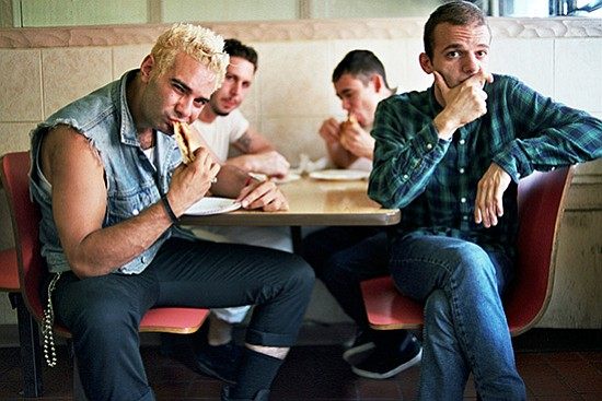 Brooklyn band the So So Glos bring a garage-punk Blowout to Soda Bar Tuesday night.