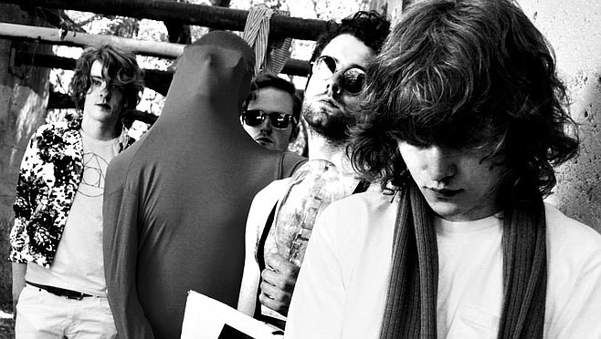 From L.A., acid-drenched psych-pop four-piece Fever the Ghost appears at Soda Bar Friday night.