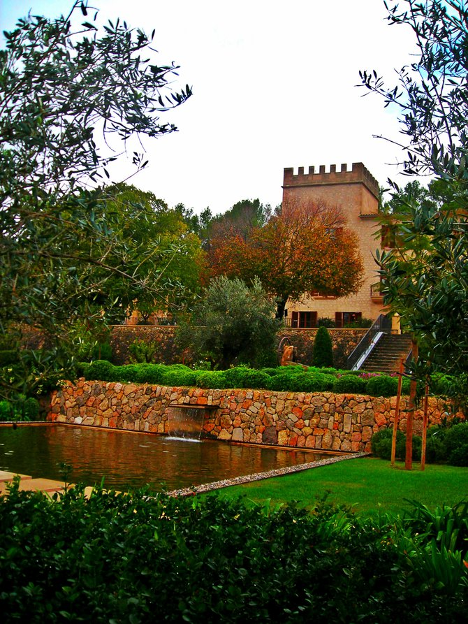 Castell son Claret, once a castle in shambles, now restored to glory and caters discerning travelers.