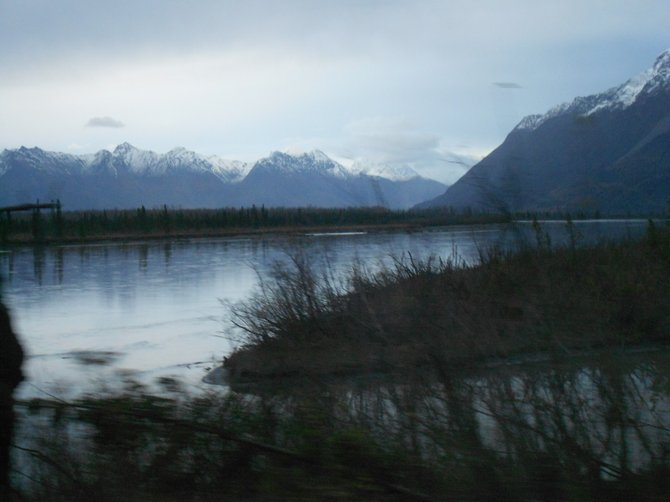 Near Seward, Alaska, this is God's Country.