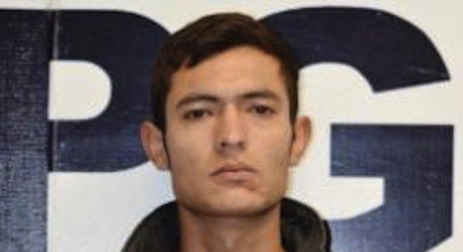 José Manuel Rodríguez Lozano (police photo)