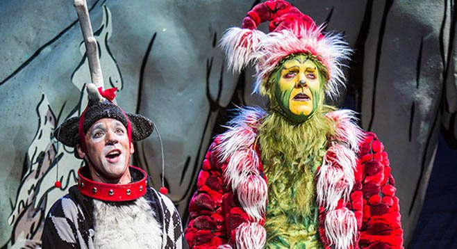 how the grinch stole christmas at the old globe san diego reader - How The Grinch Stole Christmas 2014